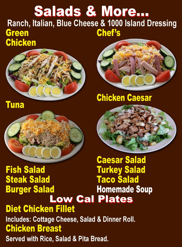 SALADS & MORE (no prices)